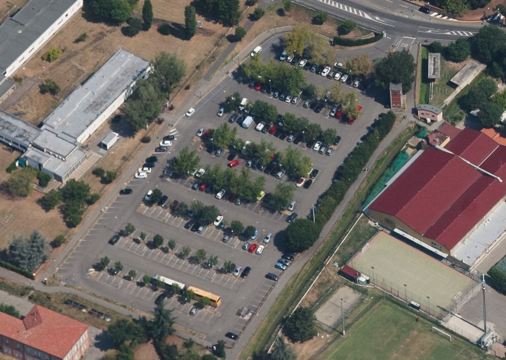 Parcheggio bocciofila area blu for Area 51 progetti