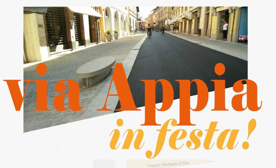 via Appia in festa